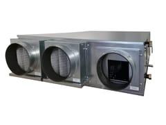 Impianto di ventilazione meccanica forzataCOMFORT CLIMA WATER S 300 / 500 - IDROSISTEMI