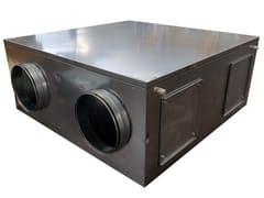 Unita di ventilazione a doppio flussoCOMFORT ROOF EC - IDROSISTEMI