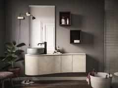 Mobile lavabo laccato sospeso VERSA COMP. 2 - Versa