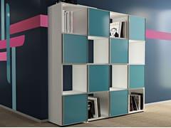Libreria ufficio a giorno modulare COMPACT CUBO - Compact