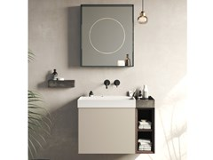 Mobile lavabo sospeso COMPACT LIVING - SET 2 - REXA DESIGN