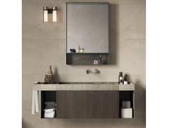 Mobile lavabo sospeso COMPACT LIVING - SET 3 - REXA DESIGN