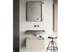 Mobile lavabo sospeso COMPACT LIVING - SET 4 - REXA DESIGN