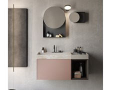 Mobile lavabo sospeso COMPACT LIVING - SET 5 - REXA DESIGN
