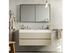 Mobile lavabo sospeso COMPACT LIVING - SET 6 - REXA DESIGN