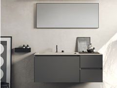 Mobile lavabo sospeso COMPACT LIVING - SET 9 - REXA DESIGN