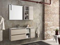 Mobile lavabo sospeso con cassetti COMPONIBILE 11 - Urban