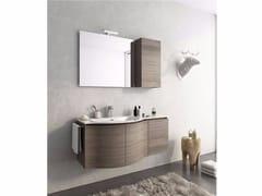 Mobile lavabo sospeso con ante COMPONIBILE 9 - Urban