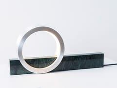 Lampada da tavolo a LED in marmoCOMPOSITION LIGHT - FÓLK REYKJAVIK