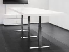 Tavolo da riunione ad altezza regolabile rettangolare.CON AIR | Tavolo da riunione alto - SPIEGELS