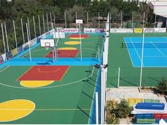 Pavimentazione per campi da tennis e polivalentiCONFOSPORT - CASALI