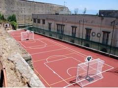 Pavimentazione colata in opera per campi da tennisCONFOSPORT PM - CASALI