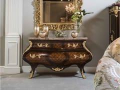 Cassettiera in legno con piano in marmo5836 | Cassettiera - BELLOTTI EZIO ARREDAMENTI
