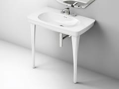 Lavabo a consolle in ceramica CIVITAS | Lavabo a consolle - Civitas