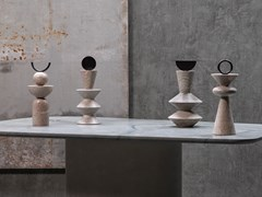 Scultura in pietra naturaleCONSTANTIN TOTEM - GARDECO