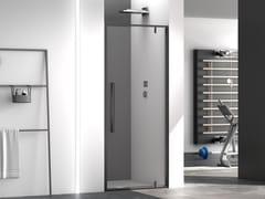 Box doccia a nicchia quadrato in vetroZEN | Box doccia in stile moderno - MEGIUS