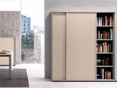 Mobile ufficio modulare con ante scorrevoli CONTENITORI UNIVERSALI EVO | Mobile ufficio con ante scorrevoli - Contenitori Universali Evo