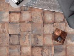 Pavimento/rivestimento in gres porcellanato effetto cottoCONTEXT AMBER - ASTOR CERAMICHE