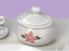 Biscottiera in ceramicaPRIMAVERA ROSA | Biscottiera - GRUPPO ROMANI