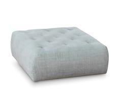 Pouf quadrato sfoderabile in tessuto con ruoteCOOKIE   Pouf quadrato - SABA ITALIA
