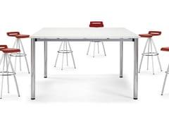 Tavolo da riunione alto quadratoCOOL E100 | Tavolo da riunione alto - ACTIU
