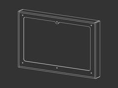 Cornice distanziale con kit prolunga per placche TeceCOR 04 - CEADESIGN