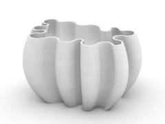 Concreative, CORAL Fioriera in cemento stampato 3D