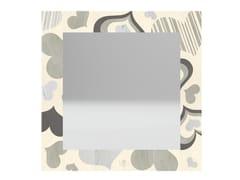 Specchio quadrato da parete con cornice CORAZÒN COLD | Specchio - DOLCEVITA LOVE