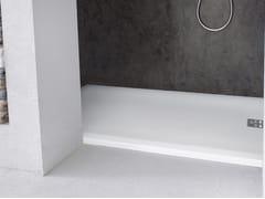 Piatto doccia filo pavimento rettangolare in Corian® CORIAN® CASUAL -