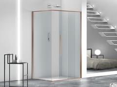 Box doccia angolare in vetro con porta scorrevoleZEN   Box doccia angolare - MEGIUS