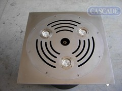 Cornice per box in acciaio inoxCornice per box - CASCADE
