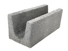 Blocco da muratura in clsCORREA 20 CLS FV INTERNI / ESTERNI - MA.CE.VI.
