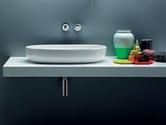 Lavabo da appoggio in ceramica VERA | Lavabo da appoggio - Vera
