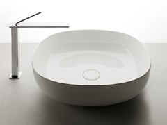 Lavabo da appoggio singolo in ceramicaPOD | Lavabo da appoggio - VALDAMA