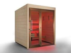 Sauna finlandese per esterno prefabbricataCOUNTRY OUTDOOR - CARMENTA