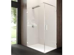 Box doccia angolare con porta a battenteCOVER MAB+MF3 - RELAX