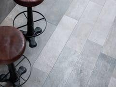 Pavimento/rivestimento in gres porcellanato effetto cemento COVER STEEL - URBATEK - Grès Porcellanato