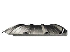 Pannello metallico coibentato per copertura in acciaioCOVERPIÙ CURVABILE - ONDULIT ITALIANA