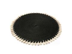 Tovaglietta rotonda in legnoCOWRIE | Tovaglietta - BAZAR BIZAR