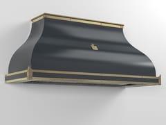 Cappa professionale in metallo verniciato a parete con illuminazione integrataCPP024 | Cappa professionale - OFFICINE GULLO
