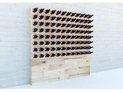 Cantinetta / portabottiglie in faggioCRAFTWAND® | Portabottiglie - MASSIV FOREST PRODUCTS