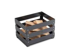 Braciere a legna da terra in acciaioCRATE - HÖFATS