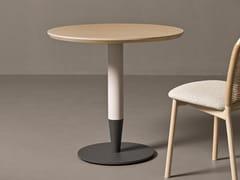 Tavolo rotondo in legnoCRAYON 01 - VERY WOOD
