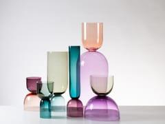 Vaso in vetro soffiatoCRESCENT - SKLO