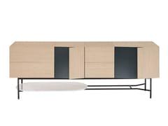 Madia in legno con cassettiCRESTA - FARGO HONGFENG INDUSTRIAL