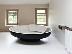 Vasca da bagno centro stanza rotonda in Cristalplant® UFO | Vasca da bagno in Cristalplant® - Ufo