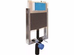 Cassetta di scarico da incasso in polietilene CRUX -