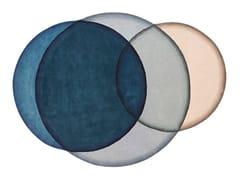 Tappeto in lana a motivi geometriciCRYSTAL BLUE - GAN BY GANDIA BLASCO