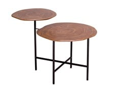 Tavolino da caffè rotondo in legnoCT-511 | Tavolino - ADWIN FURNITURE