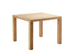 Tavolo da pranzo quadrato in teak CUBE | Tavolo quadrato - Cube